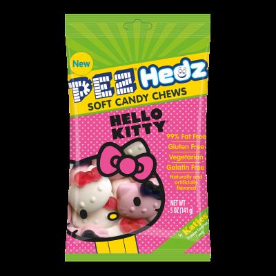 PEZ HEDZ Hello Kitty