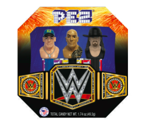WWE PEZ Set