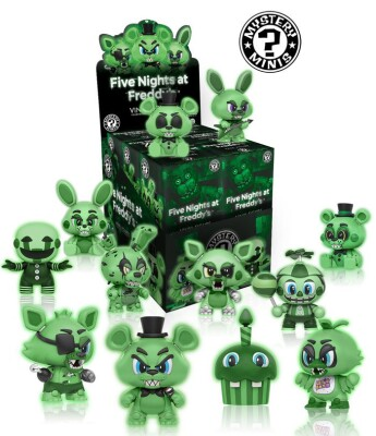 Five Nights At Freddy's Glow Mystery Minis