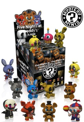 Five Nights At Freddy's Mystery Minis