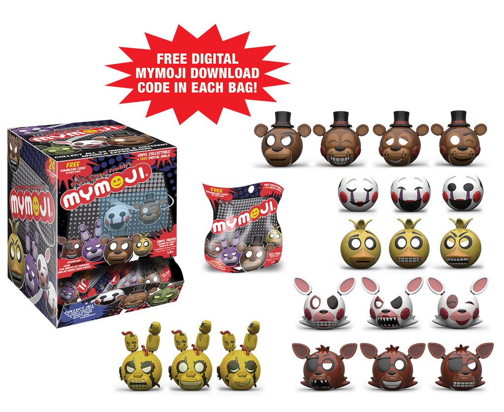 Mymoji Five Nights At Freddy S Us Dispensers The