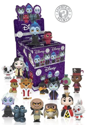 Mystery Minis Disney Villains